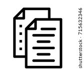 records icon | Shutterstock .eps vector #715632346