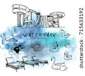 vector illustration. vector... | Shutterstock .eps vector #715633192