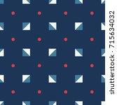 seamless abstract vector... | Shutterstock .eps vector #715634032