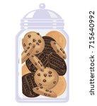 a vector illustration in eps 10 ... | Shutterstock .eps vector #715640992