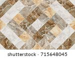 abstract home decorative art... | Shutterstock . vector #715648045