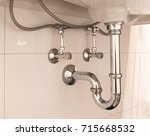 Basin Siphon Or Sink Drain In ...