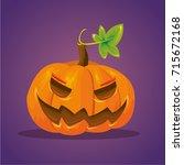 vector color cartoon comic...   Shutterstock .eps vector #715672168