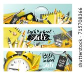 trendy design headers with ... | Shutterstock .eps vector #715708366