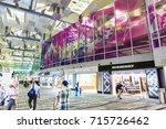 changi  singapore   september 3 ...   Shutterstock . vector #715726462