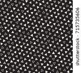 seamless primitive jumble... | Shutterstock .eps vector #715735606