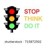 semaphore  | Shutterstock .eps vector #715872502