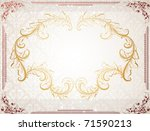 abstract pattern for design.... | Shutterstock .eps vector #71590213