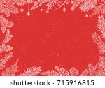 christmas poster   illustration.... | Shutterstock .eps vector #715916815