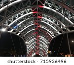 Night Bridge Construction ...