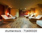 spa restroom interior and row... | Shutterstock . vector #71600320