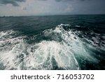 summer beach   | Shutterstock . vector #716053702
