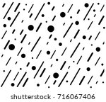 abstract geometric pattern on... | Shutterstock .eps vector #716067406
