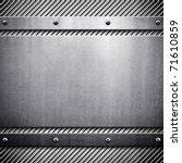 metal template | Shutterstock . vector #71610859