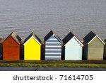 Colorful Beach Huts  Hearne Ba...