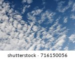 the clouds and sky landscapes... | Shutterstock . vector #716150056