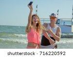 odessa  ukraine august 24  2017 ... | Shutterstock . vector #716220592