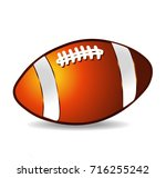 football cartoon | Shutterstock .eps vector #716255242