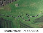 aerial view of a river near... | Shutterstock . vector #716270815