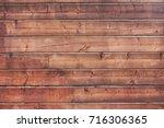 old boards background | Shutterstock . vector #716306365