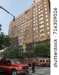new york city  new york  ... | Shutterstock . vector #716309026