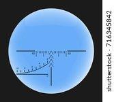 scope  vector. aim icon.... | Shutterstock .eps vector #716345842