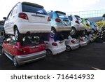 junkyard   Shutterstock . vector #716414932