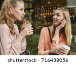 young adult student people... | Shutterstock . vector #716438056