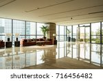 luxury lobby interior.   Shutterstock . vector #716456482