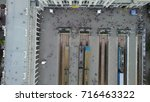 odessa railway station  aerial... | Shutterstock . vector #716463322
