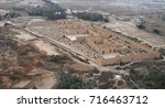 restored ruins of the south... | Shutterstock . vector #716463712