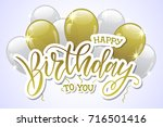 vector illustration.happy... | Shutterstock .eps vector #716501416