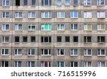 Old Block Of Flats. Urban...