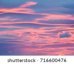 photo of cloud of early morning ...   Shutterstock . vector #716600476