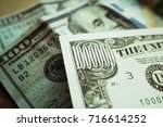 Small photo of Financial Freedom With 1 Million Dollar Bill With Hundreds