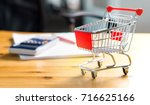 budget of poor and low income...   Shutterstock . vector #716625166