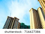 high rise residential district  ...   Shutterstock . vector #716627386