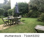 garden. villa in bordeaux | Shutterstock . vector #716643202