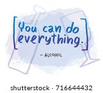 vector motivational card with... | Shutterstock .eps vector #716644432