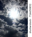 beautiful afternoon sun | Shutterstock . vector #716650852