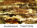 the old wood texture with... | Shutterstock . vector #716671936