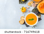 food and drink  still life ... | Shutterstock . vector #716749618