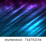 blue abstract background | Shutterstock .eps vector #716752156