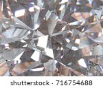 Realistic Diamond With Caustic...