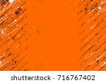 dark brown grunge background.... | Shutterstock . vector #716767402