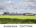 modern open dutch farm | Shutterstock . vector #716777446