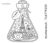Vector Coloring Book For...