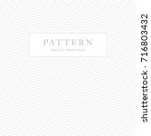 simple chevron seamless pattern.... | Shutterstock .eps vector #716803432