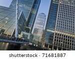 Canary Wharf Is A Large...
