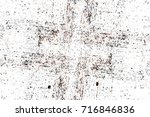 dark brown grunge background.... | Shutterstock . vector #716846836